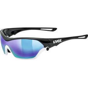 UVEX Sportstyle 705 Sportglasses black white/mirror blue